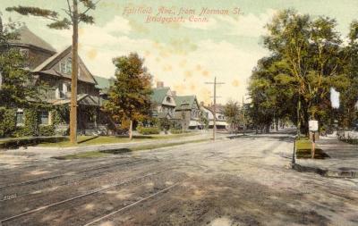 Fairfield Ave., from Norman St., Bridgeport, Conn.