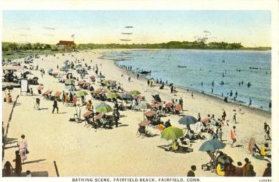 Bathing Scene, Fairfield Beach, Fairfield, Connecticut