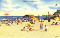 Beach at Fairfield, Conn.