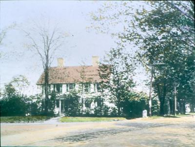 Benson House with Trolley Tracks