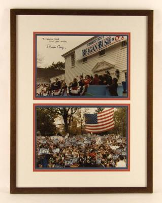 Photographs of Reagan/Bush Visit to Fairfield