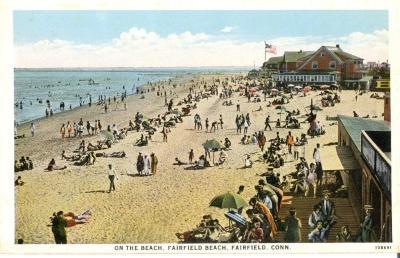On the Beach, Fairfield Beach, Fairfield, Conn.