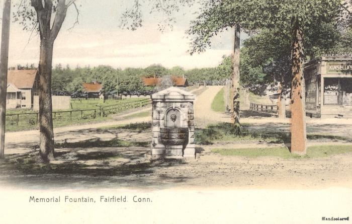 Memorial Fountain, Fairfield, Conn.