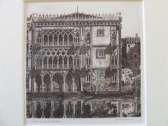 Venetian Filigree Christmas Card