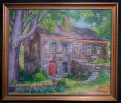 Picture - Oil painting of Polly Norton House