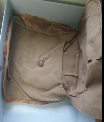 WW1 Army Bag/with accessories
