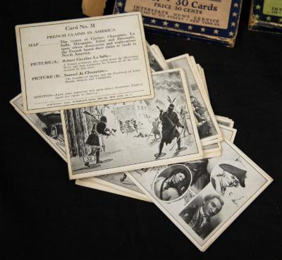 Publication - Interstate News Service History Flash Cards for students