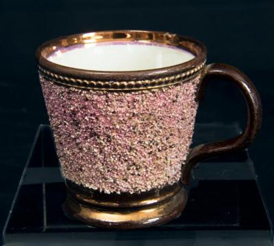 Cup w/ copper luster