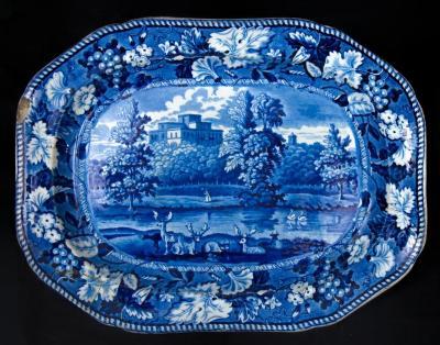 """Platter in """"Kenmount, Dumfriesshire"""" pattern"""