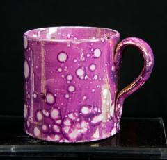 Mug w/ pink luster